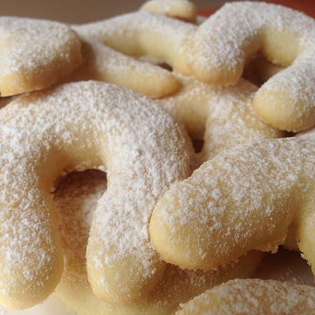 Les Kipfel (ou petits biscuits autrichiens)