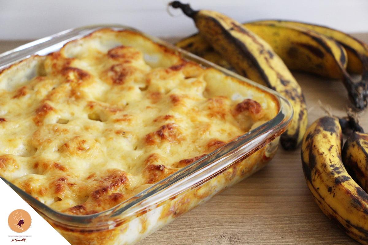 #LGDK : Gratin de bananes plantain