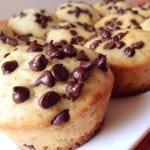 Les muffins aux Pépites de Chocolat
