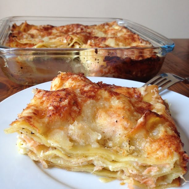 Les lasagnes au saumon (version simplifiée!)