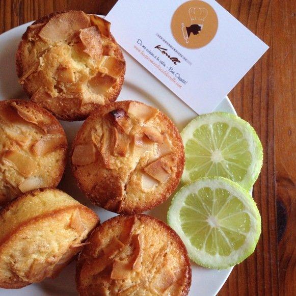 Petits moelleux coco – citron