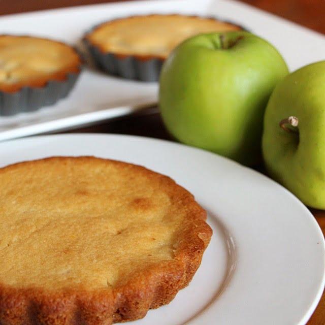 Petit gâteaux aux poires et aux amandes (sans œuf)