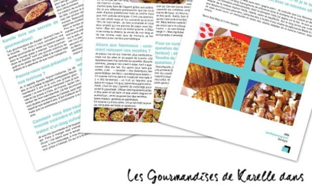 Les Gourmandises de Karelle dans AZA MAG, le E-Magazine des femmes entrepreneures africaines