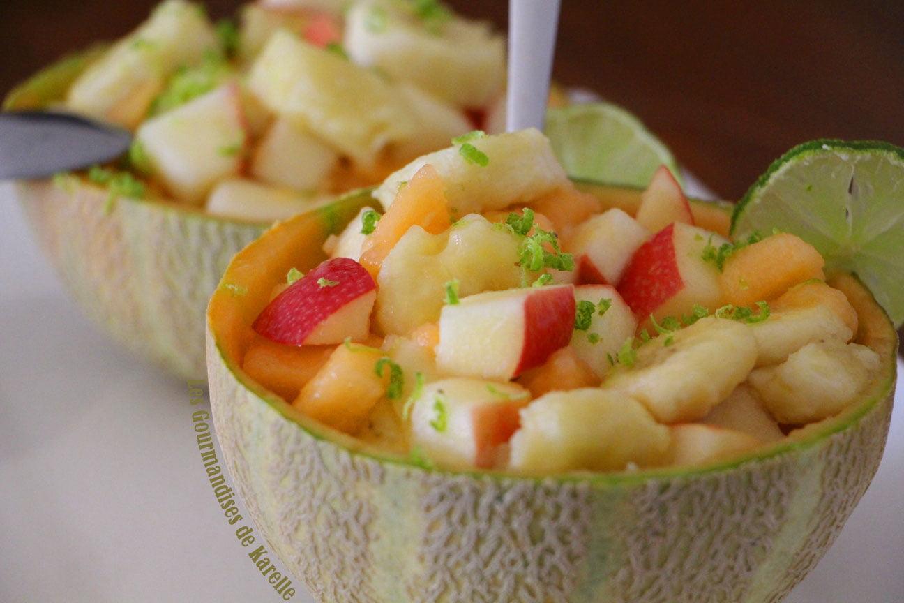 Une salade de fruit qui donne envie!