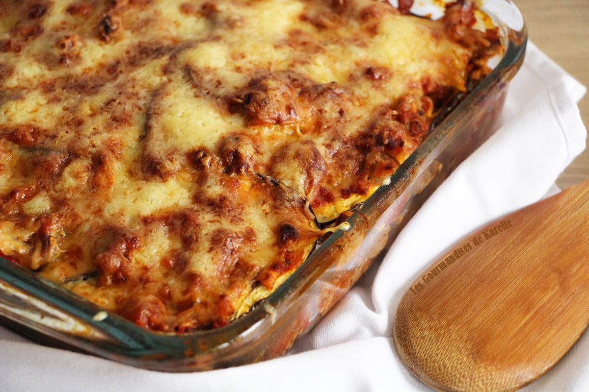Mes lasagnes d aubergines faciles et rapides - Lasagne facile et rapide ...