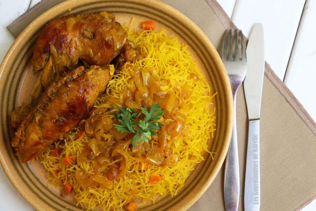 vermicelles aux poulet recette senegalaise cuisine de chez nous. Black Bedroom Furniture Sets. Home Design Ideas