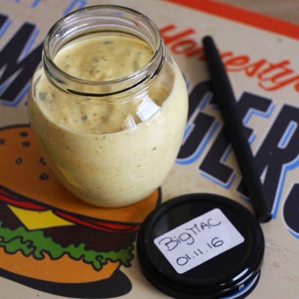 Sauce « Big Mac » et Burger 100% maison