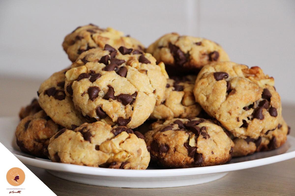 #LGDK : Cookies XL (Pépites de chocolat et Noix)