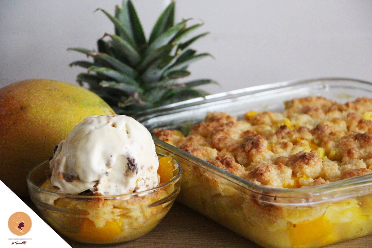 #LGDK : Crumble Twopical (Manque, Ananas, Coco)