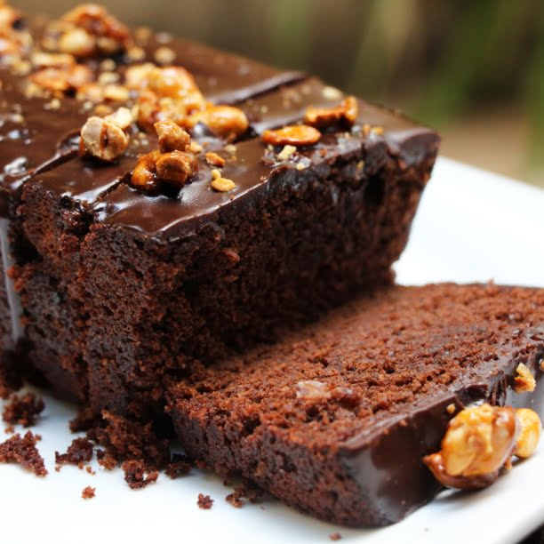 Le Cake Chocolat et Arachides (par Fatimata Wone)
