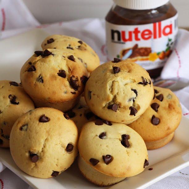 Les muffins de Maud (fourrés au Nutella!)