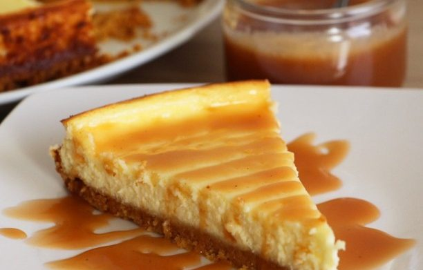 L'original Cheesecake ! (Et mon caramel facile)