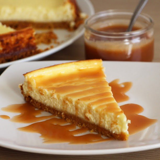 L'original Cheesecake ! (Et mon caramel facile)