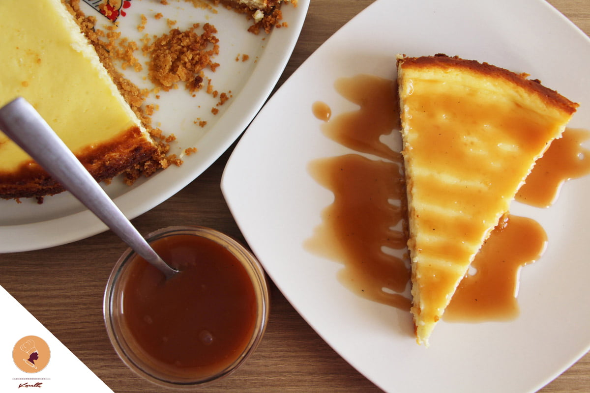 L original cheesecake et mon caramel facile for Entree de noel legere
