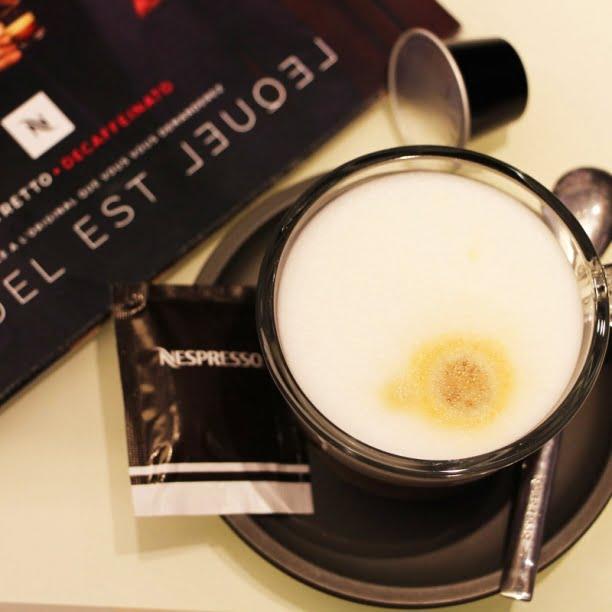 Lequel est lequel? Nespresso présente le Ristretto Decaffeinato!