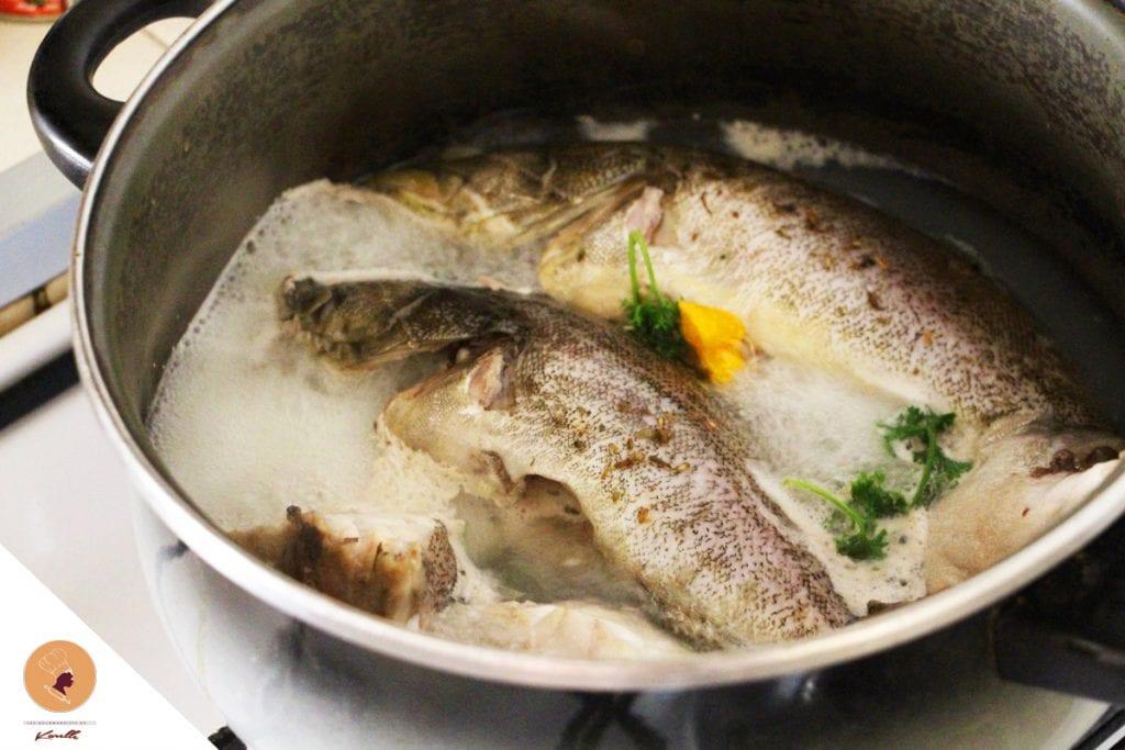 de congélation poisson température ambiante