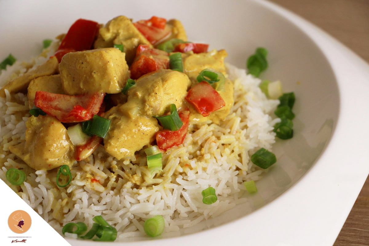 #LGDK : Poulet Curry-Coco Express!