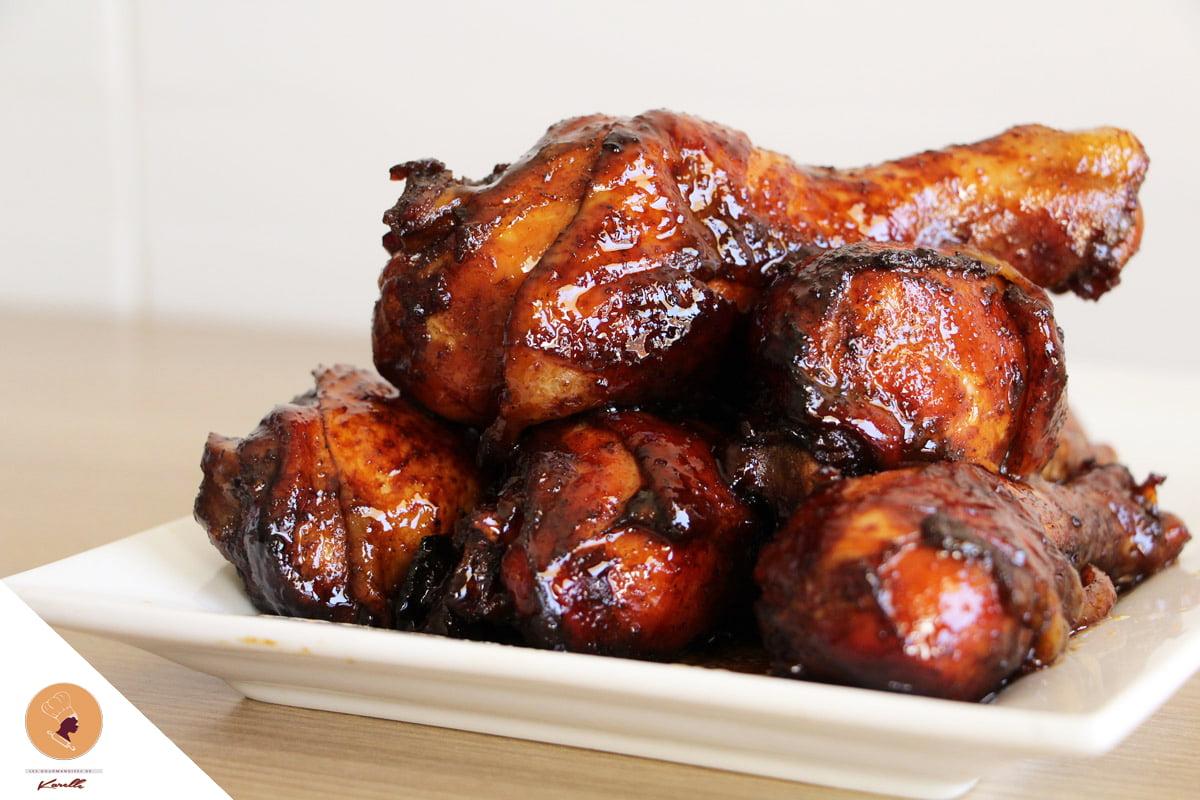 #LGDK : Pilons de poulet (Miel et Gingembre)
