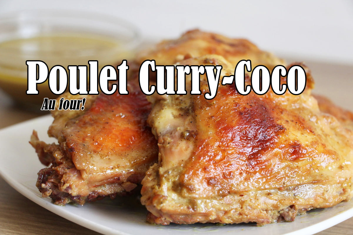 lgdk poulet curry coco au four. Black Bedroom Furniture Sets. Home Design Ideas