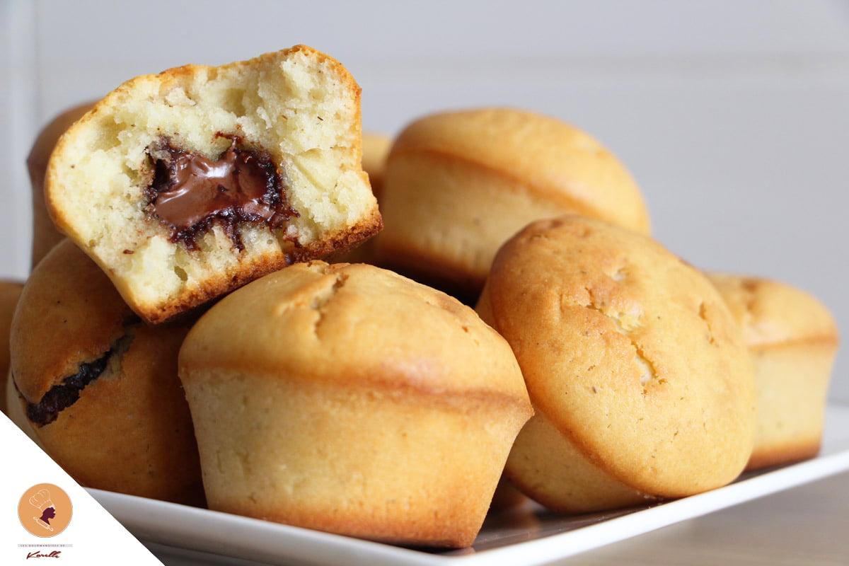 #LGDK : Mandises (Muffins à la pâte à tartiner!)
