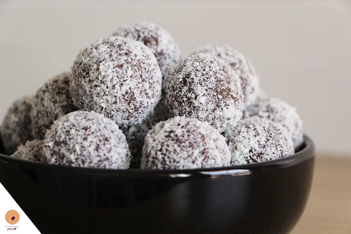 #LGDK : Boules Choco-Coco (sans cuisson!)