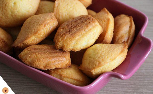 #LGDK : Madeleines moelleuses à la vanille