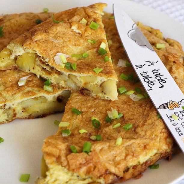 Tortilla espagnole, facile et rapide!