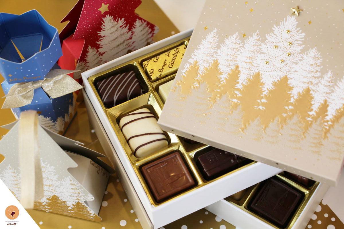 offrir chocolat a une femme