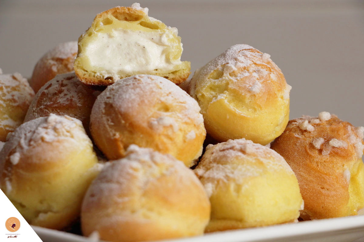 #LGDK : Chouquettes fourrées, chantilly à la vanille!