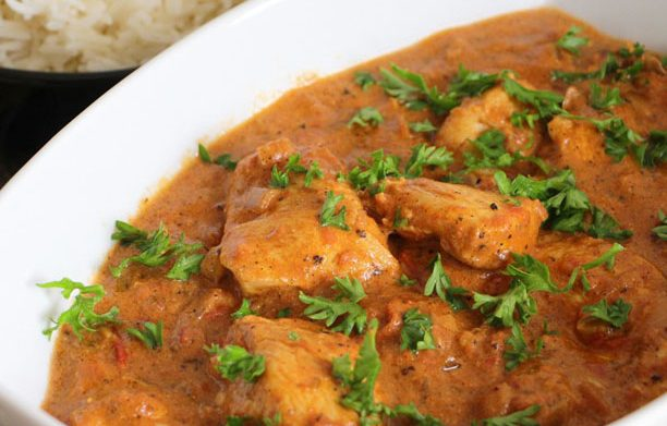 Poulet à l'indienne (Butter Chicken Masala)