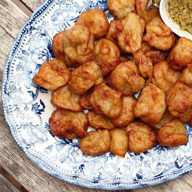 Les Talé-Talé, beignets de banane béninois