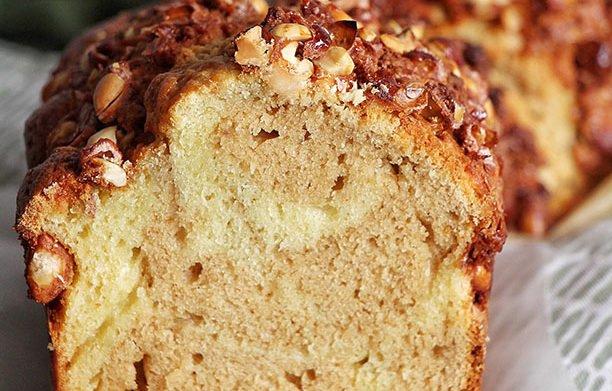 Cake marbré au beurre de cacahuètes