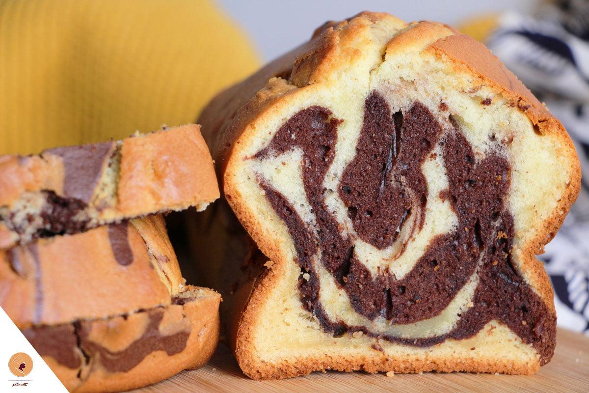 #LGDK : Cake marbré au chocolat