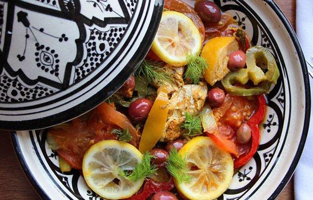 Tajine de poisson marocain