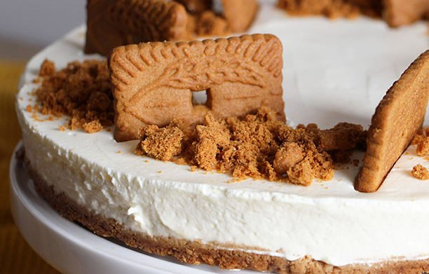 Cheesecake au Speculoos (sans sucre)