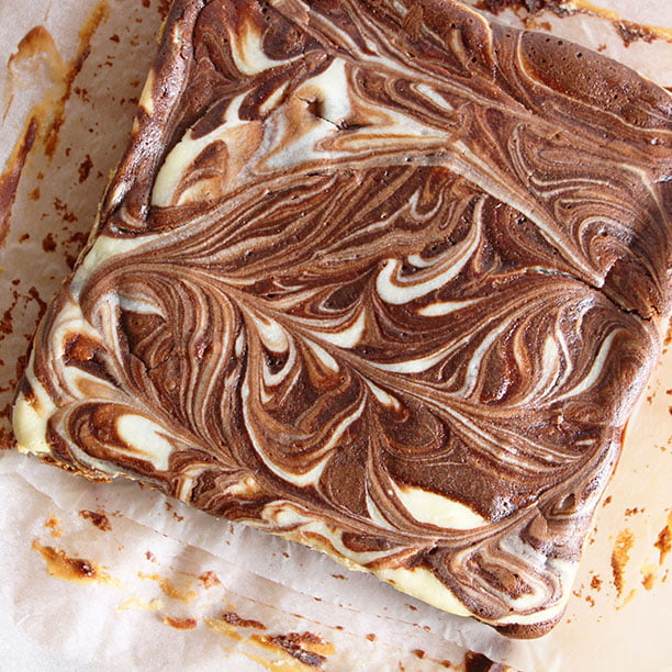 Brownie-Cheesecake (2 en 1 !)