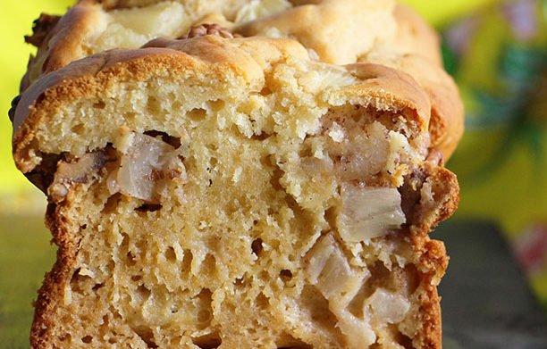 Cake à l'ananas, ma version allégée !