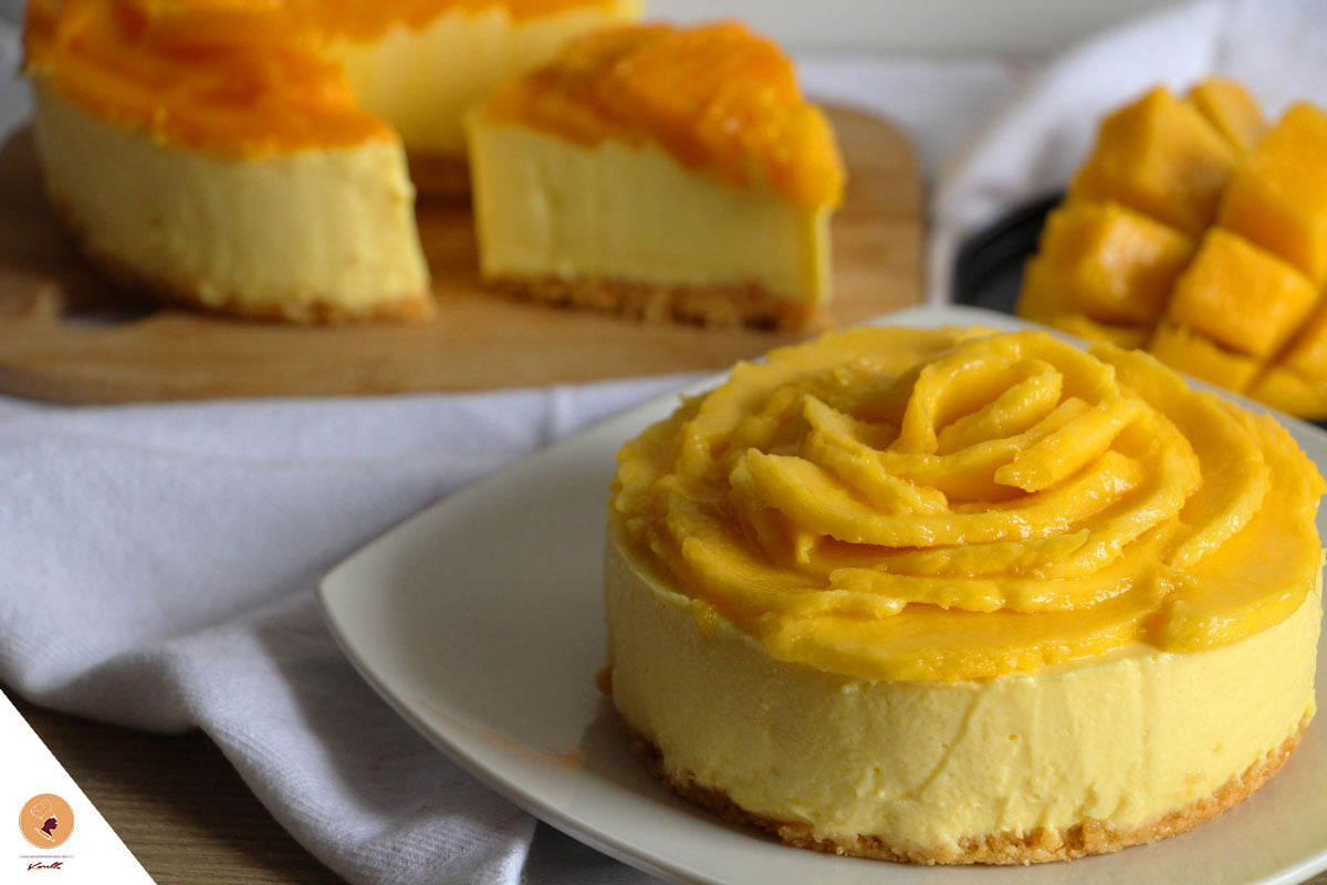 #LGDK : Cheesecake à la mangue