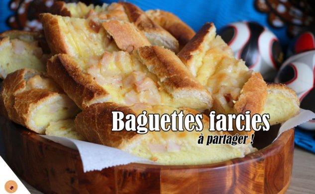 #LGDK : Baguettes farcies à partager