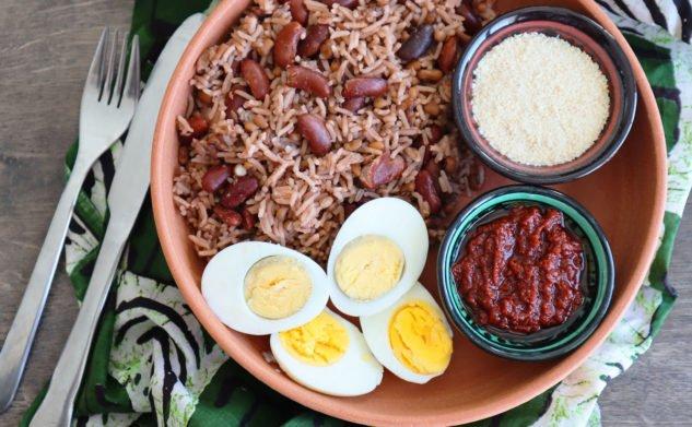 Atassi, riz aux haricots du Bénin