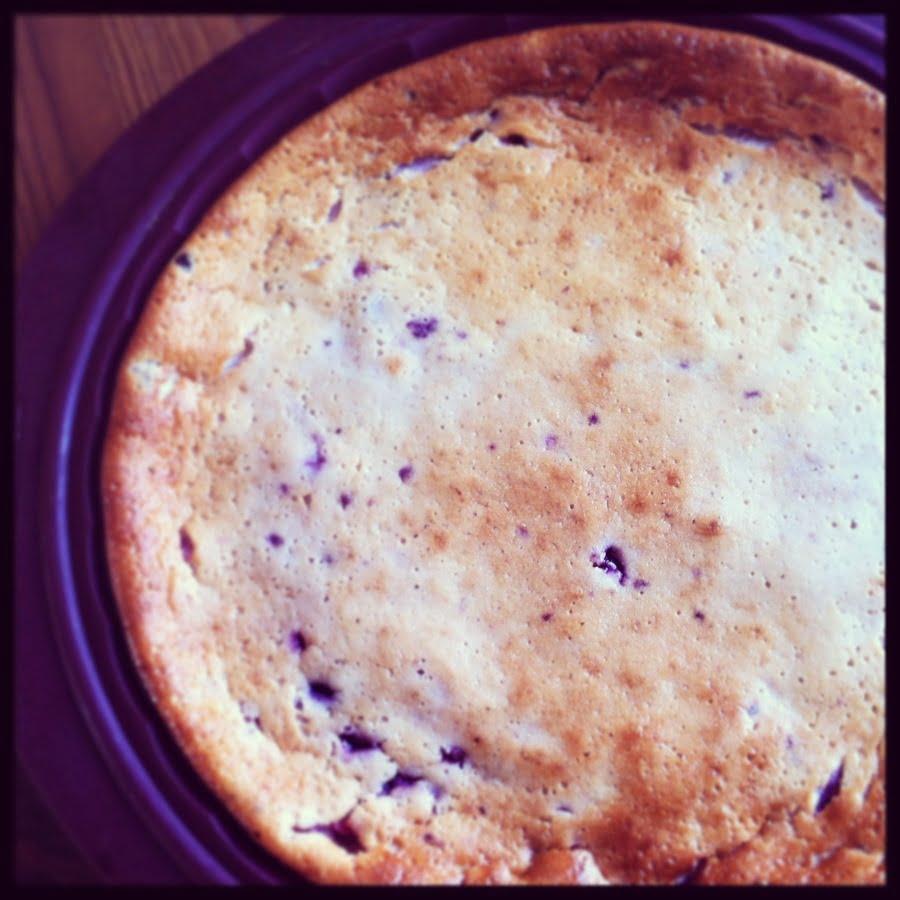 Le gâteau au Fromage Blanc et aux Fruits Rouges