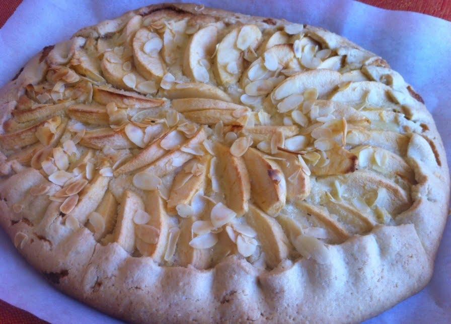 The Apple Frangipane Tart