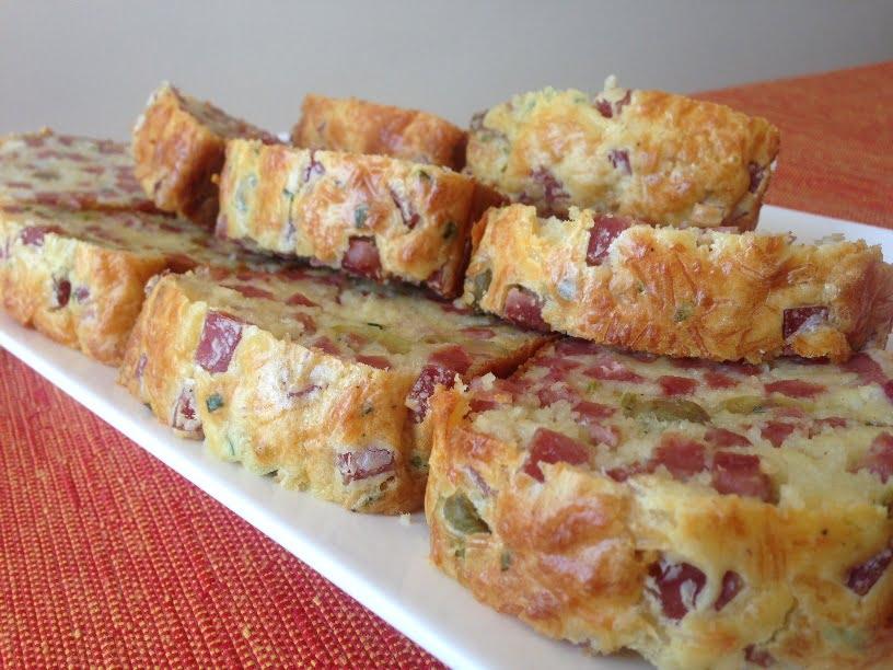 Le Cake au Jambon et aux Olives