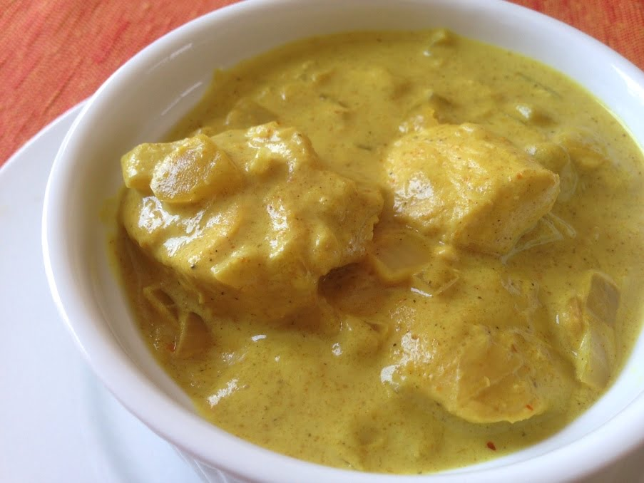 Le Poulet Curry-Coco Express