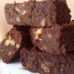 Le Brownie au Chocolat Noir et aux Noix de Pécan