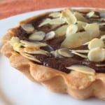 Les Tartelettes Choco, Poire, Amande