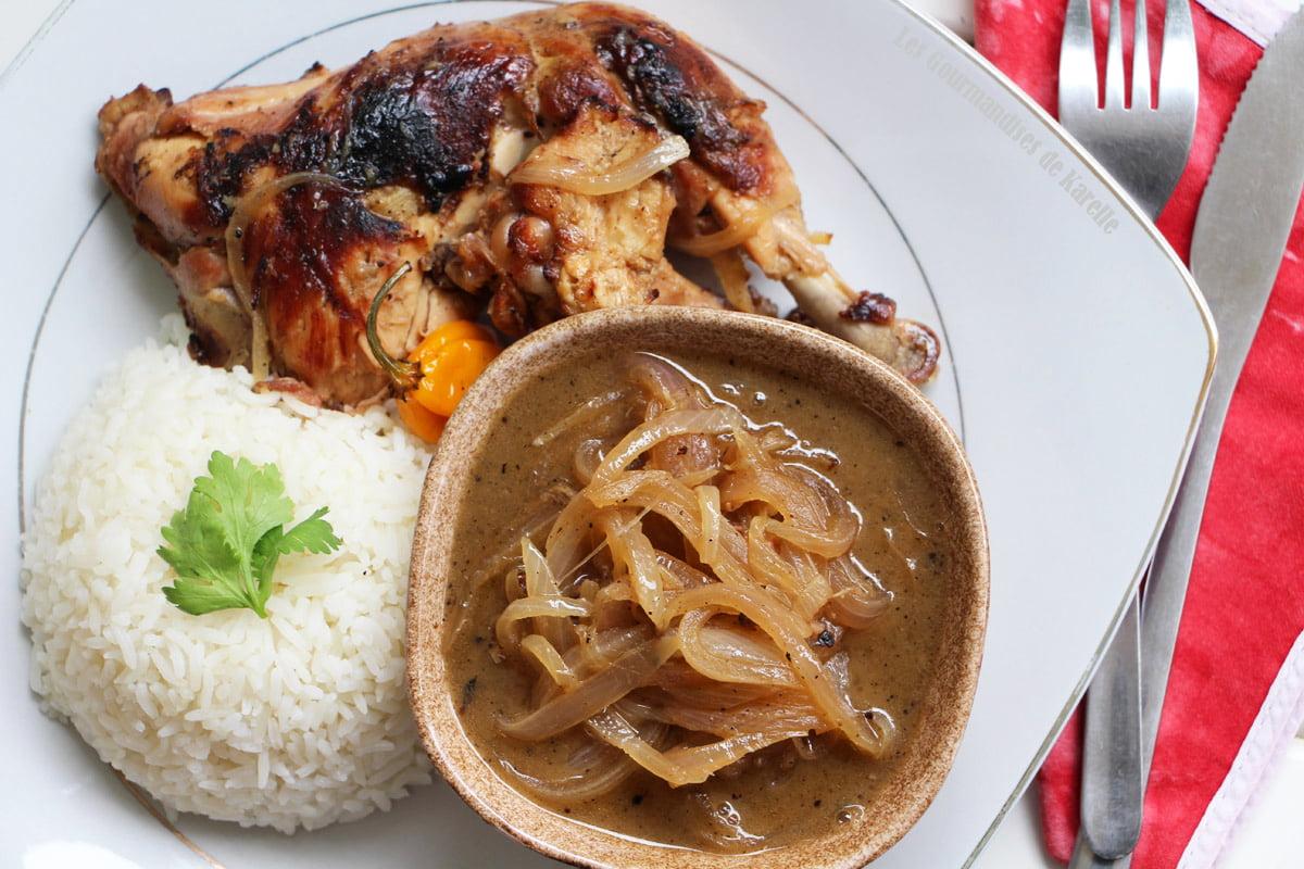 Le Yassa au poulet, la recette authentique