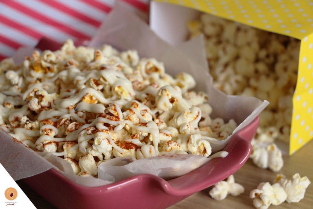 #LGDK : Pop-Corn salés, sauce au fromage