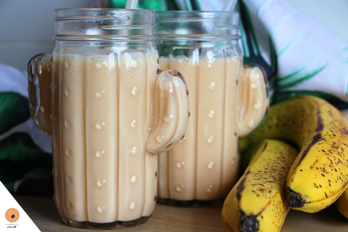 #LGDK : Smoothie Banane, Papaye & Cerelac Biscuité