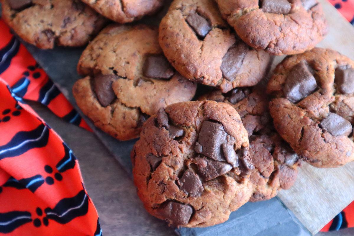 Délicieux Cookies Vegan, Sans Gluten et presque Sans Sucre !